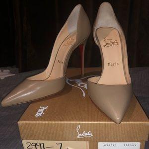 Christian Louboutin Shoes - Iriza - Beige